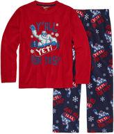 Arizona 2-pc.Yeti Pajama Set Boys