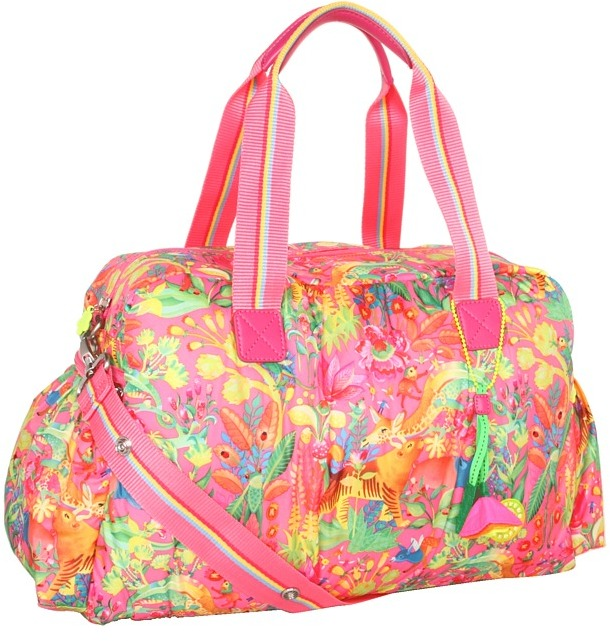 Oilily Animal Tope Baby Bag (Pink) - Bags and Luggage