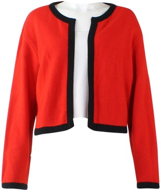 Comme des Garcons Red Wool Jackets