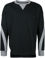 Factotum contrast sweatshirt - men - Cotton - 44