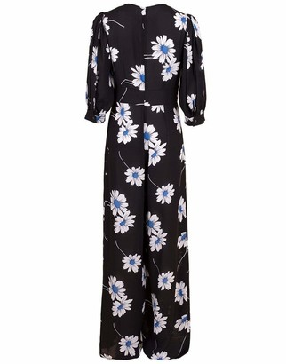 Michael Kors Collection Tie Front Palazzo Jumpsuit