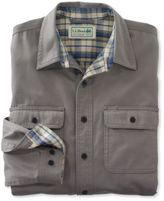 L.L. Bean Flannel-Lined Hurricane Shirt