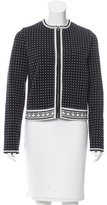 Tory Burch Zip-Up Knit Cardigan