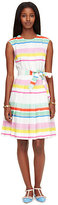 Kate Spade Multi cape stripe shirtdress