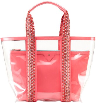 Kelly Wynne Clear Beach Tote