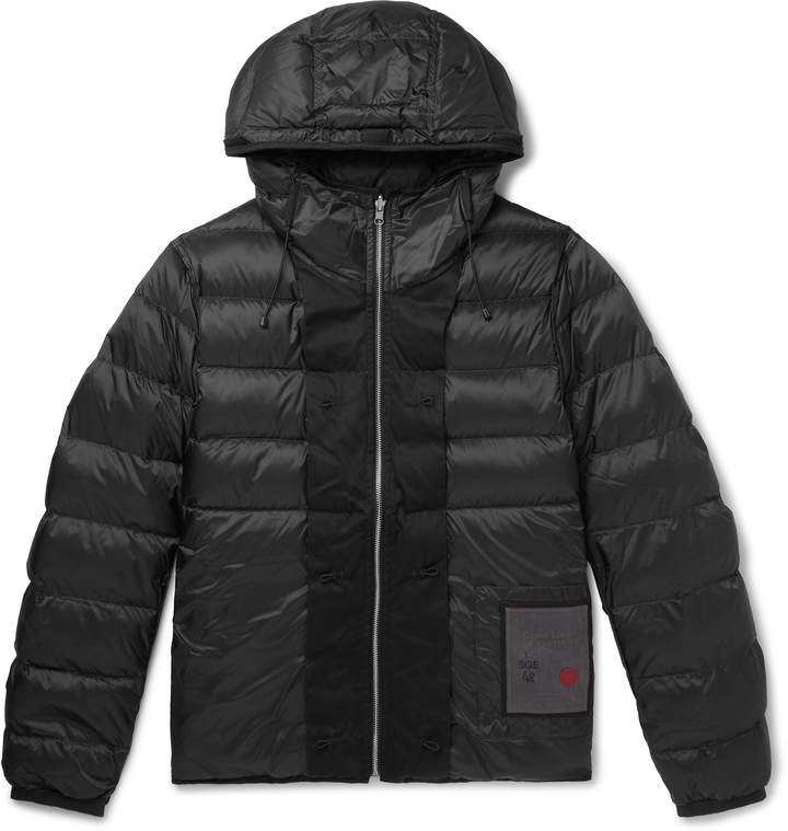 df944c09f Quilted Nylon Hooded Down Liner