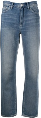 Carhartt Work In Progress Faded Straight-Leg Jeans