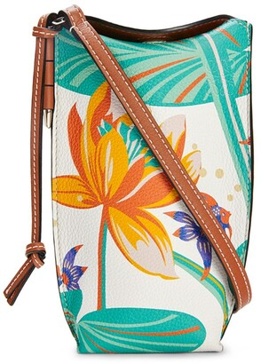 Loewe x Paula's Ibiza Waterlily Gate Pocket Bag