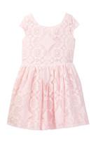 Joe Fresh Lace Knit Dress (Little Girls & Big Girls)