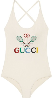 Gucci Tennis swimsuit