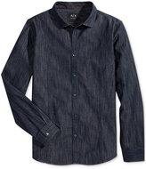 Armani Exchange Men's Denim Shirt