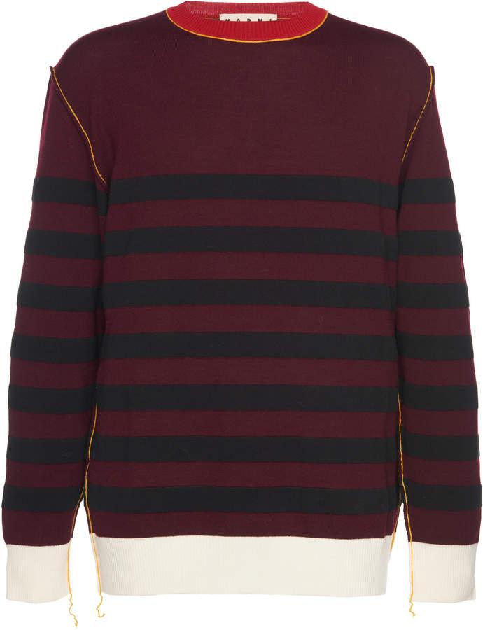 Marni Striped Cotton Sweater