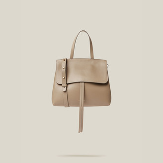Mansur Gavriel Grey Mini Lady Leather Shoulder Bag One Size