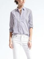 Banana Republic Parker-Fit Multi-Stripe Shirt