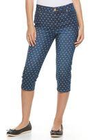 Gloria Vanderbilt Petite Jordyn Capri Jeans