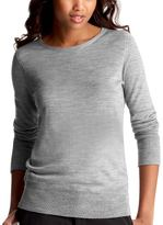 Featherweight crewneck sweater