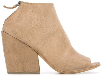 Marsèll Open-Toe Ankle Boots