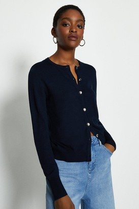 Coast Long Sleeve Button Front Cardigan