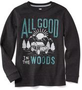 Old Navy Graphic Thermal Tee for Boys
