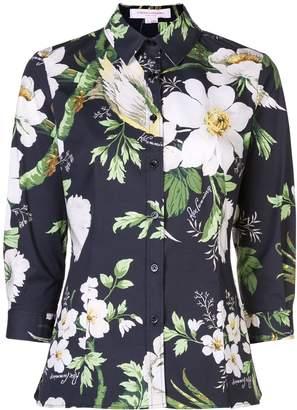 Carolina Herrera printed floral shirt