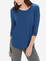 The Limited Superbly Soft Curved Hem Top