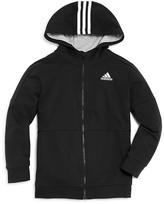 adidas Boys' Zip Hoodie - Sizes S-XL