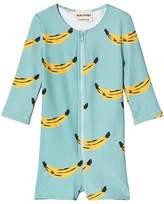Bobo Choses Beryl Green Banana Swim Overalls