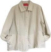 Krizia Ecru Linen Jacket for Women Vintage