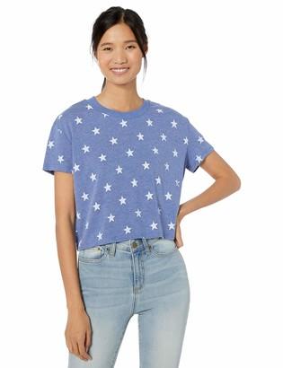 Alternative Women's Headliner Printed eco-Jersey Cropped t-Shirt
