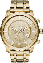 Diesel Men's Chronograph Stronghold Gold-Tone Stainless Steel Bracelet Watch 51x58mm DZ4376