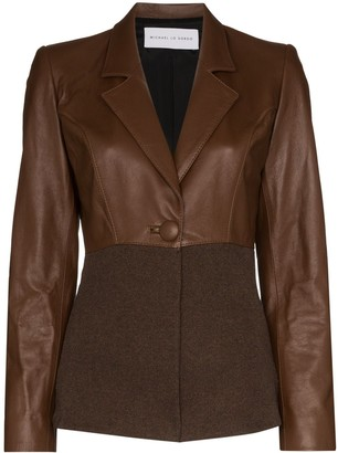 Michael Lo Sordo Two Tone Blazer Jacket