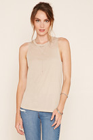 Forever 21 Contemporary Heathered Tank