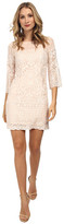 Laundry by Shelli Segal Windsor Embroidered Mesh A-Line
