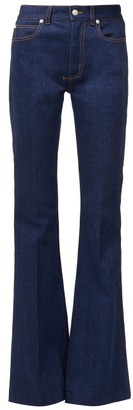 Alexander McQueen High-rise Flared Jeans - Blue