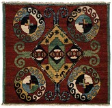 "Bloomingdale's Kaitag Collection Oriental Rug, 4'10"" x 5'3"""