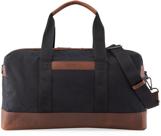 Shinola Men's Mack Waxed Canvas Duffel Bag