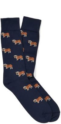 J.Mclaughlin Bulldog Socks