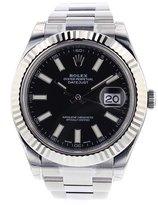 Rolex Datejust II 41mm Steel Dial Men's Watch 116334