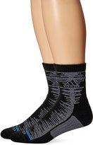 adidas Men's Frequency Quarter Socks (Pack of 2)