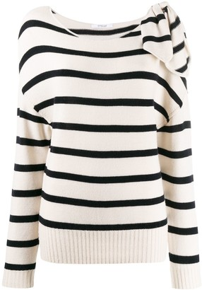 Derek Lam 10 Crosby Tessa Tie Shoulder Sweater