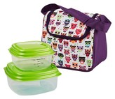 Fit & Fresh Morgan Insulated Lunch Bag Kit - Hoot Owl