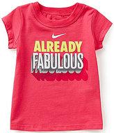 Nike Baby Girls 12-24 Months Already Fabulous Short-Sleeve Tee