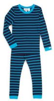 Coccoli Little Boy's & Boy's Two-Piece Striped Tee & Pants Set