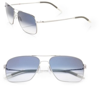 Oliver Peoples Clifton Aviator Sunglasses