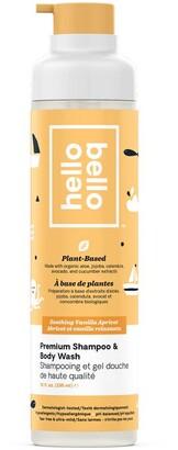 Baby Essentials hello bello Shampoo and Body Wash - Vanilla Apricot - 296 ml