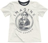 Junk Food Clothing Boy's Imagine Tee - Tusk/Pepper