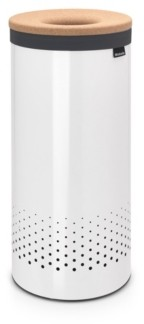 Brabantia Laundry Hamper, 9.2 Gallon, Cork Lid