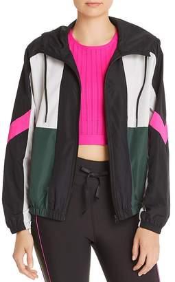 Aqua Color-Block Jacket - 100% Exclusive