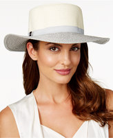 Calvin Klein Marled and Shine Boater Hat