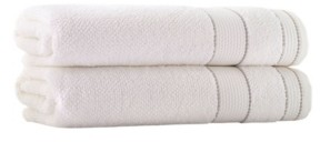 Enchante Home Monroe 2-Pc. Bath Sheets Turkish Cotton Towel Set Bedding